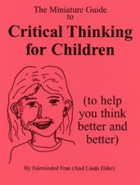 How to Ask Questions that Prompt Critical Thinking by Karine Oyola     Toys R Us com