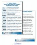 Laminated Card: Criteria for Evaluating Reasoning