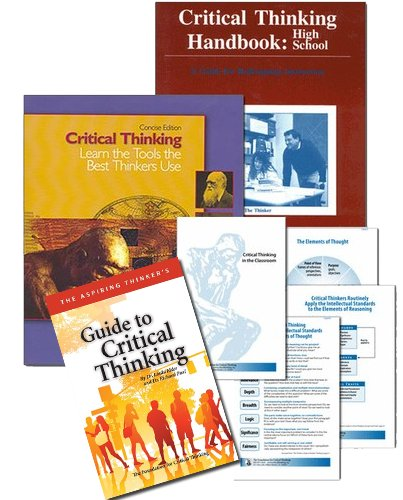 critical thinking teaching materials There's often the misconception that teaching critical thinking is more work but if teachers have some questioning tools, and are creating ways for students to formulate arguments in response to essential questions, that is really what can drive the content.