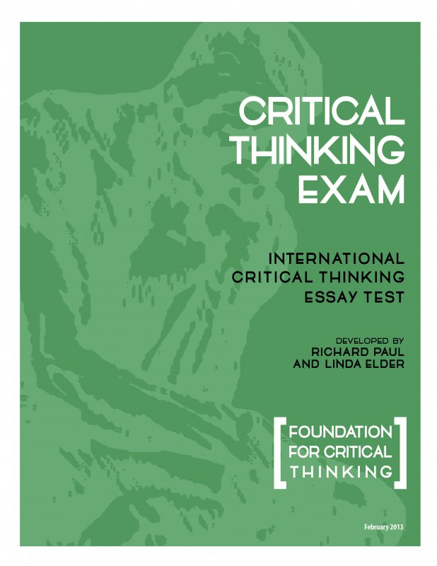 international critical thinking essay test critical thinking