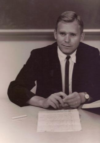 Richard Paul, circa 1967, teaching
