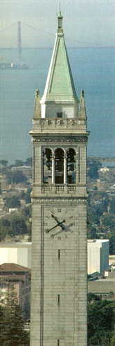 The Campanile at UC Berkeley