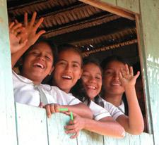 Tomshiacu Peru - Don Augustin Rivas School