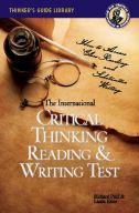 Critical Thinking Reading & Writing Test