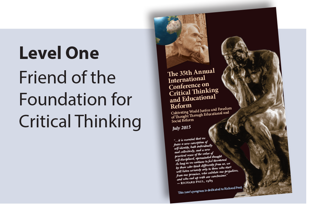 the foundation for critical thinking